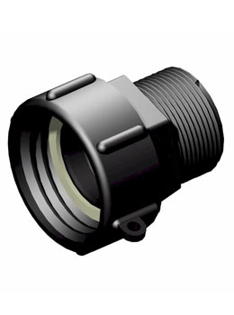 IBC adapter DIN61 – 1 1/2 inch BSP - Verpakkingswebwinkel.nl