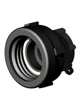 IBC adapter draaibaar DIN61 - 1 1/4'' BSP - Verpakkingswebwinkel.nl