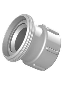 IBC adapter DIN61 - RD78 melkdraad DIN11851 - Verpakkingswebwinkel.nl