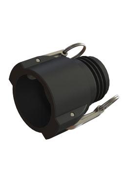 IBC adapter Camlock 2'' DIN61 buitendraad - Verpakkingswebwinkel.nl