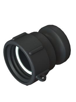 IBC adapter DIN61 - Camlock - Verpakkingswebwinkel.nl