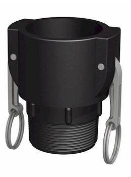 IBC adapter Camlock 2'' - 2'' BSP buitendraad - Verpakkingswebwinkel.nl
