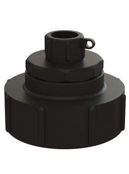 IBC adapter DN80 S100X8 - 3/4'' BSP binnendraad - Verpakkingswebwinkel.nl