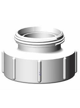 IBC adapter DN80 S100X8 - RD78 melkdraad - Verpakkingswebwinkel.nl